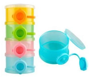 """Набор контейнеров """"Бинки"""" для детского питания и сухой смеси N4"""
