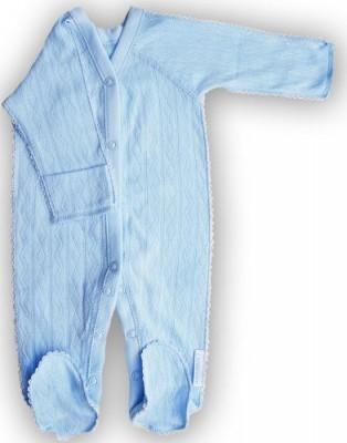"""Комбинезон """"Ажур"""" голубой из интерлока , шов мережка,  на рост 42 см, 46 см, 50 см"""